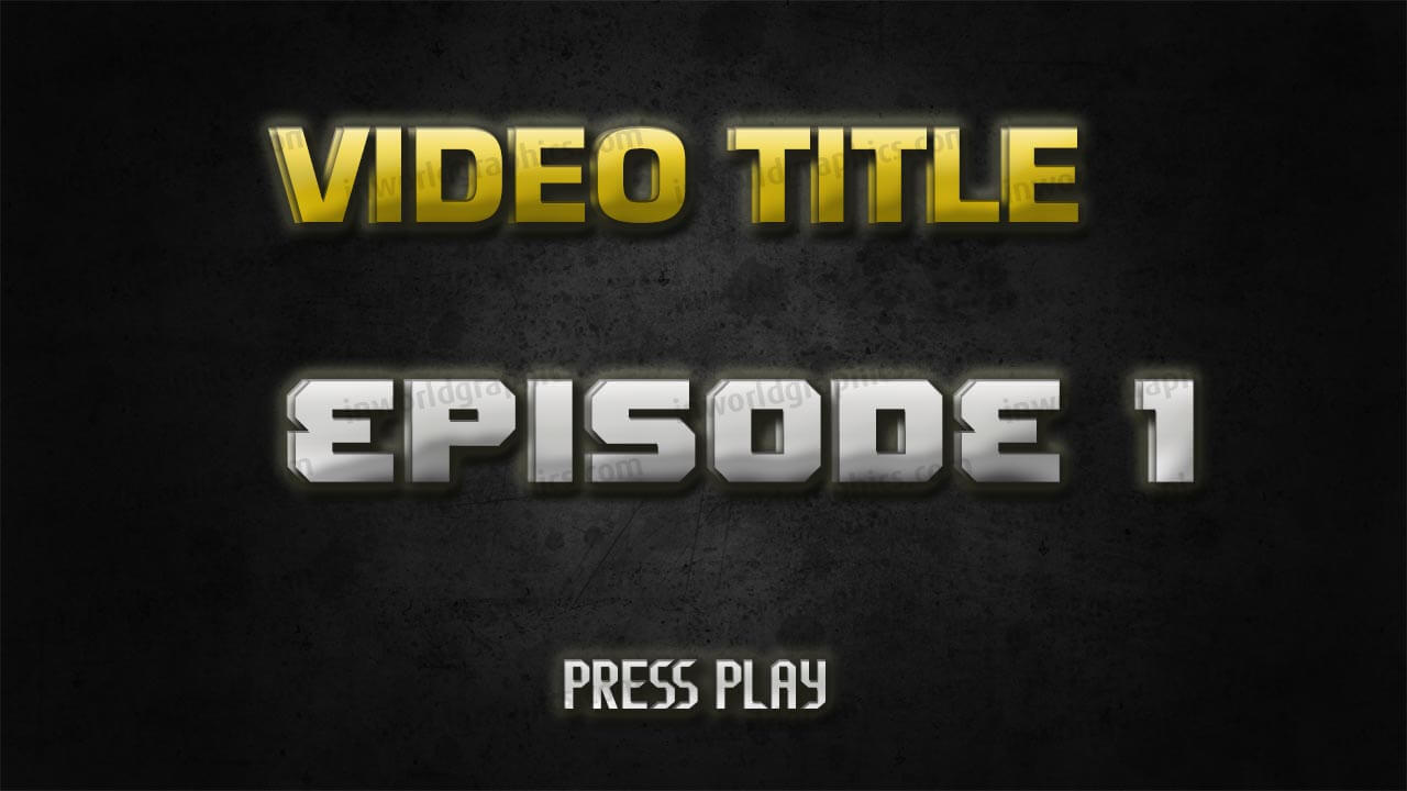 Premade Youtube Thumbnail 1