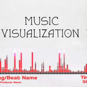music visualization premade 1